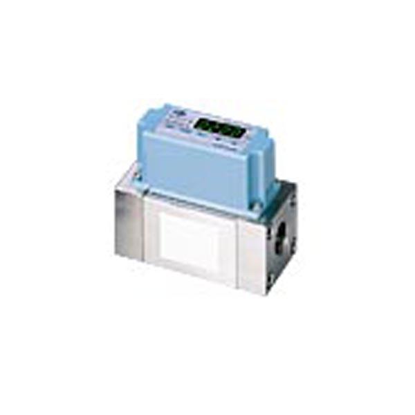 氣體質量流量計 CMS是一種高性能氣體質量流量計,使用了azbil獨立研發的微流量傳感器μF單元。此傳感器是一個晶片型熱質式質量流量傳感器,直接安裝於流體管路中,可以測量極低流速的流體流量,使CMS具有100:1高範圍比。微流量傳感器晶片與先進的流體管路設計技術的結合,使該儀錶測量精度高,量程比大,且成本低。 用於氫氣和氦氣